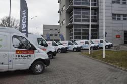 Pocztowa flota aut elektrycznych