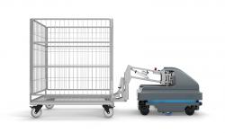 Autonomiczne roboty mobilne MiR na warszawskich targach