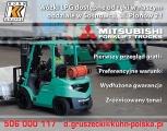 Wózki widłowe LPG  - DOSTĘPNE OD RĘKI