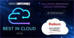 Raben wyróżniony w Best in Cloud 2019