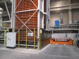Regał TwinTower do składowania blach ze stacją wyjezdną