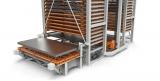 Regał TwinTower do składowania blach