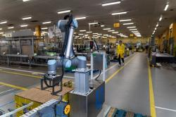 Roboty w fabryce Unilever w Katowicach