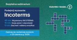 Webinarium Kuehne+Nagel Incoterms 2020