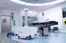 Autonomiczne roboty mobilne wchodzą do gry w  obszarze dezynfekcji