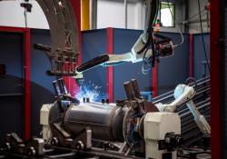 Zrobotyzowana i zautomatyzowana linia produkcyjna
