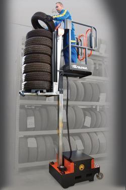 Elevah 5 Tires – profesjonalne wsparcie w magazynie opon
