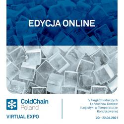 Kod rabatowy targów ColdChain Poland Virtual Expo