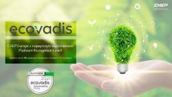 Najwyższa ocena od EcoVadis za zrównoważony rozwój