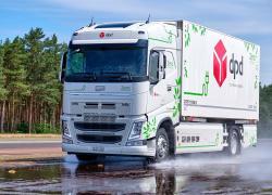 Testy prototypów opon do elektrycznych ciężarówek na Contidromie