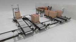 Elastyczne i wydajne sterowanie modułowej platformy przenośników