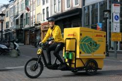 Pierwszy elektryczny rower kurierski w DHL Express