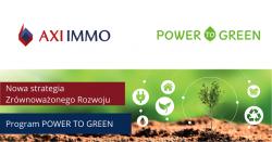 AXI IMMO z nową strategią Zrównoważonego Rozwoju