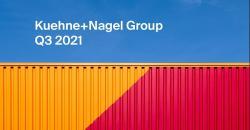 Wyniki Grupy Kuehne+Nagel w trzecim kwartale 2021 roku.