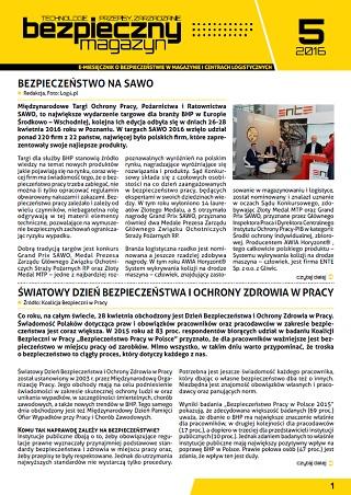 Bezpieczny Magazyn - 05-2016
