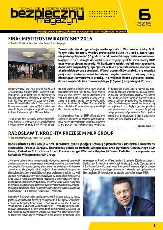 Bezpieczny Magazyn - 06-2016